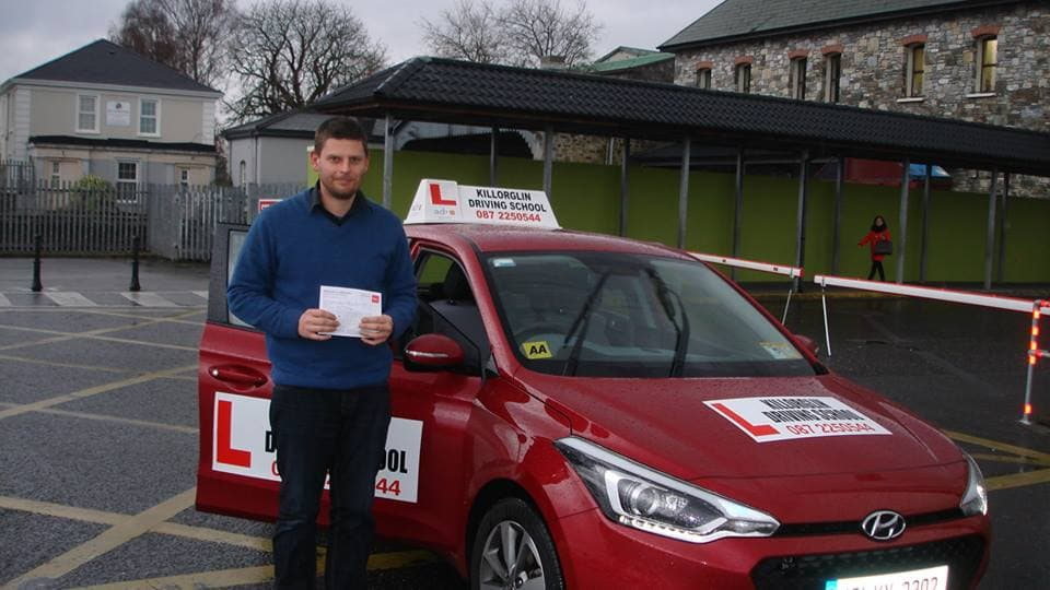 Passed Driving Test In Killarney