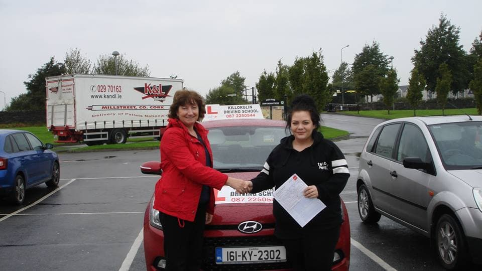 Passed Driving Test In Killarney Test Centre