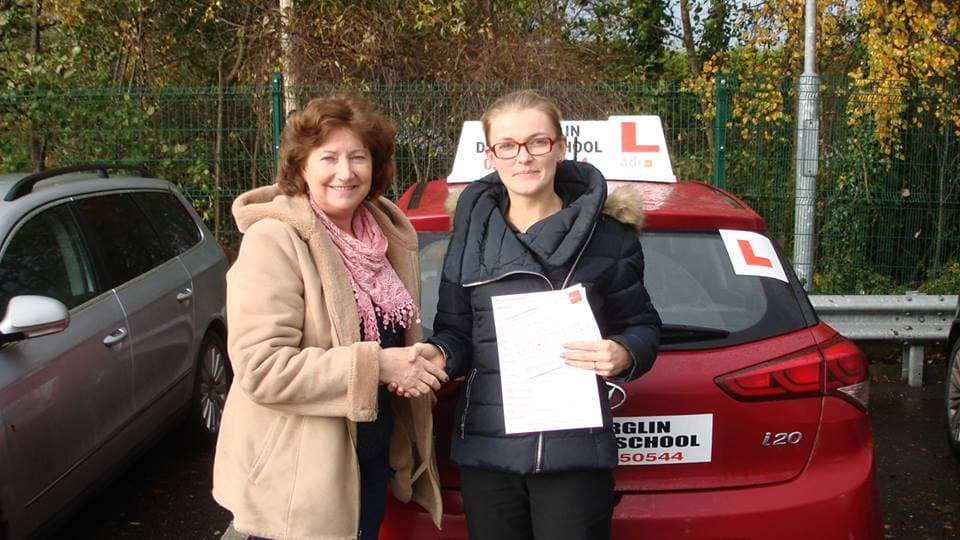 Killorglin Driving School Passed Driving Test Results Picture